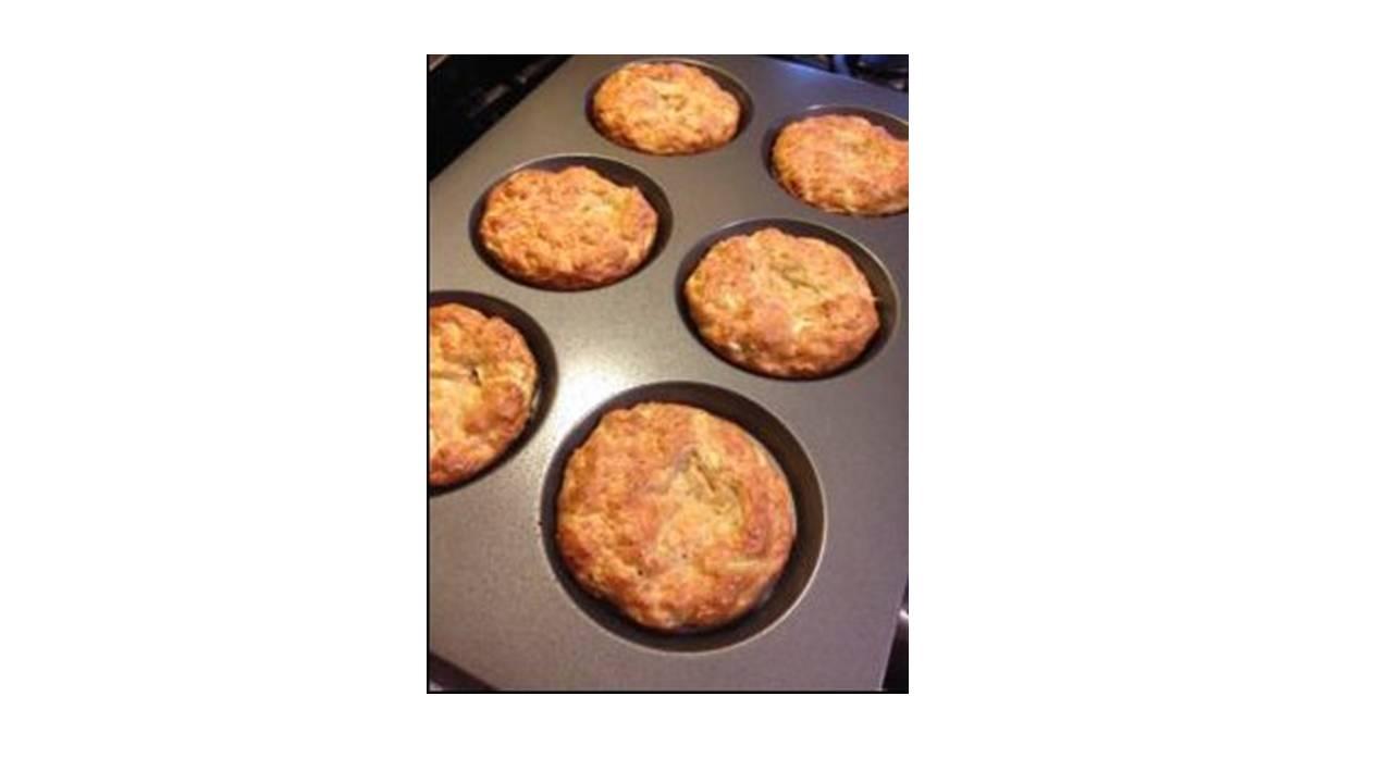 Cinnamon Maple Oatmeal Muffins