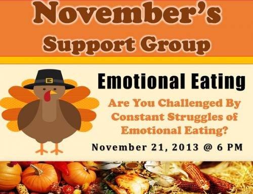 Support Group: Emotional Eating