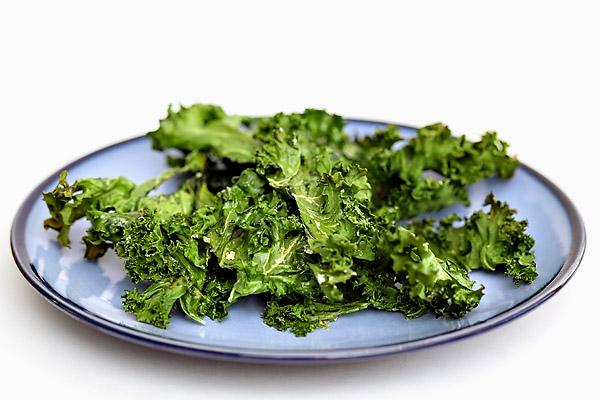 Kale Chips & Salsa